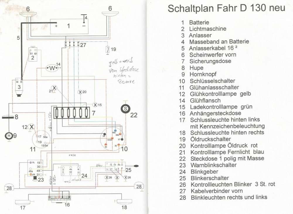 Schön Ford Diesel Traktor Zündschalter Schaltplan Fotos ...